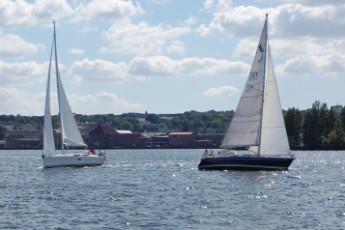 Flensburg : sailing boats in Flensburg