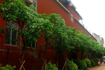 Guangzhou Catalpa Garden Youth Hostel : External view of the Guangzhou Catalpa Garden Youth Hostel in China
