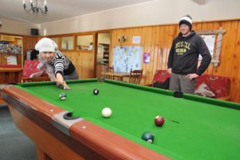 YHA Wanaka : Communal Area in Wanaka YHA - Purple Cow Hostel, New Zealand