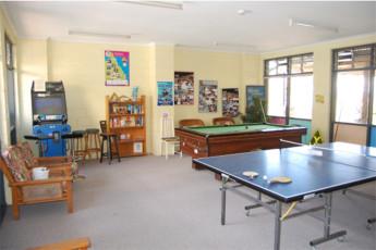 Gold Coast - Coolangatta/Kirra Beach : Games room at the Gold Coast - Coolangatta/Kirra Beach hostel in Australia