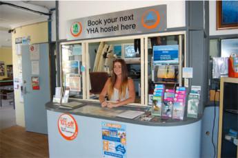 Gold Coast - Coolangatta/Kirra Beach : Travel desk at the Gold Coast - Coolangatta/Kirra Beach hostel in Australia