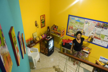Cali - Sunflower Hostel : Lobby in Cali - Sunflower Hostel, Colombia