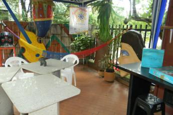 Cali - Sunflower Hostel : Patio Area in Cali - Sunflower Hostel, Colombia