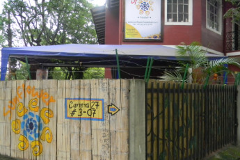 Cali - Sunflower Hostel : Front Exterior View of Cali - Sunflower Hostel, Colombia