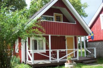 Hagaby/Lantgården : Exterior View of Hagaby/Lantgarden Hostel, Sweden