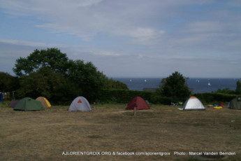Auberge de jeunesse Hi Ile-de-Groix : Camping at the Island-of-Groix Hostel in France