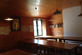Auberge de jeunesse Hi Ile-de-Groix : Speisesaal in der Ile-de-Groix Hostel in Frankreich