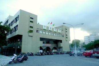 Hualien CYC International Youth Hostel : Exterior view of the Hualien CYC International Youth Hostel in Taiwan