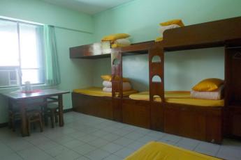 Hualien CYC International Youth Hostel : Dorm room in the Hualien CYC International Youth Hostel in Taiwan