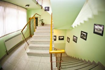 Samobor : Staircase in Samobor Hostel, Croatia