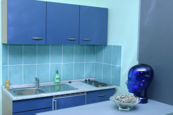 Samobor : Kitchen in Samobor Hostel, Croatia