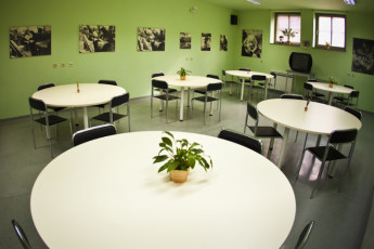 Samobor : Dining Area in Samobor Hostel, Croatia