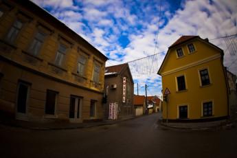 Samobor : Front Exterior View Samobor Hostel, Croatia