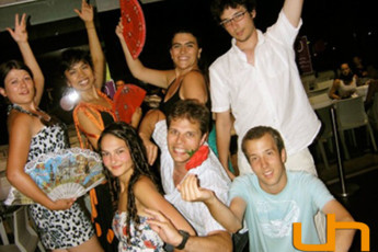 Barcelona - Barcelona Urbany Hostel : Group of guests in the Barcelona - Barcelona Urbany Hostel in Spain