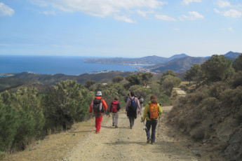 Llançà - Costa Brava : Guests walking trail near to the Llanca - Costa Brava Hostel in Spain