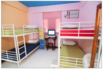 Penghu - Penghu Moncsor Youth Hostel : Dorm room in the Penghu - Penghu Moncsor Youth Hostel in Taiwan