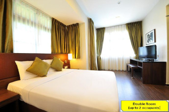 Costa Sands Resort (Sentosa) YH : Double room at the Costa Sands Resort (Sentosa) YH in Singapore