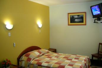 Iquitos - Ambassador : Double room in the Iquitos - Ambassador hostel in Peru