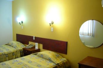 Iquitos - Ambassador : Twin Zimmer in Iquitos - Ambassador Hostel in Peru