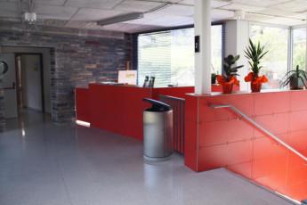 Andorra la Vella - Alberg de la Comella : Reception Desk in Andorra la Vella - Alberg de la Comella, Andorra