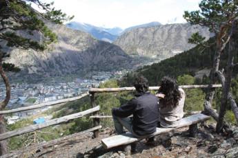 Andorra la Vella - Alberg de la Comella : View of Local Landscape from Andorra la Vella - Alberg de la Comella Hostel, Andorra