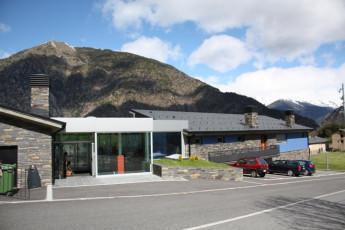 Andorra la Vella - Alberg de la Comella : Front Exterior View of Andorra la Vella - Alberg de la Comella Hostel, Andorra