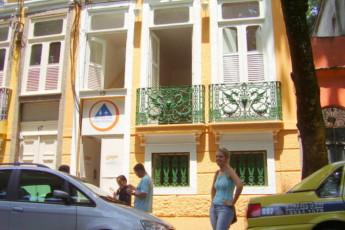 Rio De Janeiro – Cidade Maravilhosa Hostel : frente Vista exterior de Cidade maravillosa Hostel - Rio, Brasil