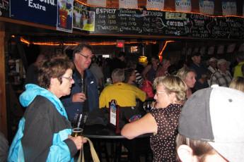 HI - Esprit : Guests socialising in bar of the HI-Esprit Hostel in Canada