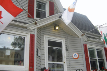 HI - Charlottetown - Backpackers Inn : frente Vista exterior de Charlottetown - Backpackers Inn Hostel, Canadá