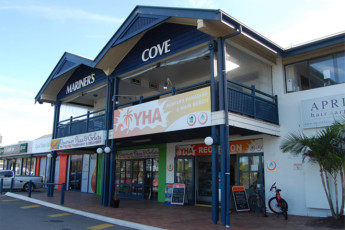 Surfers Paradise YHA at Main Beach YHA : Surfers Paradise YHA at Main Beach YHA entrance