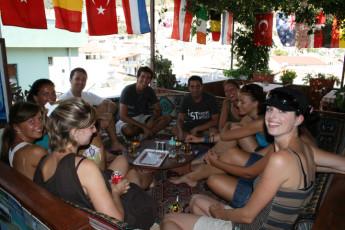 Kaş - Ani Motel : Kas Ani Motel terrace