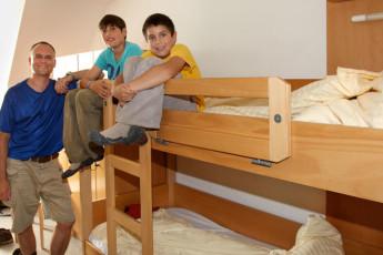 Friedrichshafen : Guests in Friedrichshafen Hostel dorm