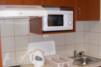 Debrecen - OEC West Hostel : Kitchen in Debrecen - OEC West Hostel