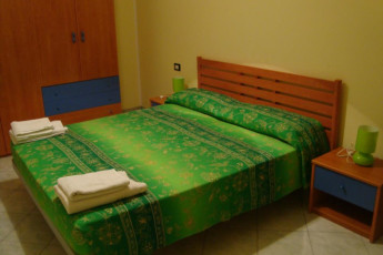 Guardavalle Marina - YH Borgorosso : Private double room in the Guardavalle Marina - YH Borgorosso hostel in Italy