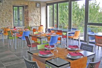 Cáceres - Albergue Juvenil Alberjerte : Dining Area in Caceres - Albergue Juvenil Alberjerte Hostel, Spain