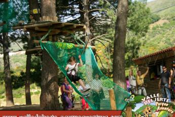 Cáceres - Albergue Juvenil Alberjerte : Adventure Park Local to Caceres - Albergue Juvenil Alberjerte Hostel, Spain