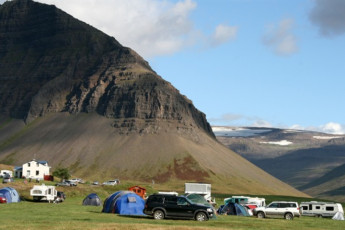 Korpudalur : Camping at the Korpudalur hostel
