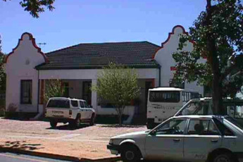 Stellenbosch - Stumble Inn : Front Exterior View of Stellenbosch - Stumble Inn Hostel, South Africa