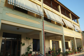 Berat - Hostel SPES : Front Exterior View of Berat - Hostel SPES, Albania