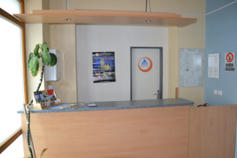 Tabor - Hostel Bernarda Bolzana : Reception Desk in Tabor - Hostel Bernarda Bolzana, Czech Republic