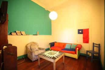Valparaiso -  PataPata Hostel : Lounge Area in Valparaiso - PataPata Hostel, Chile
