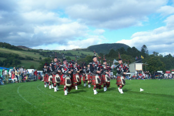 Drumnadrochit - Loch Ness Backpackers : Local Event in Landscape Surrounding Drumnadrochit - Loch Ness Backpackers Hostel, Scotland