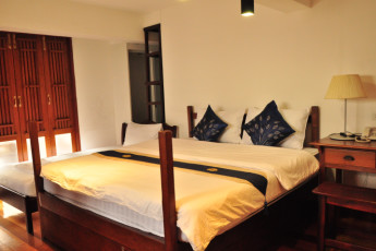 HI Baan Thewet : Double Bedroom in Baan Thewet Hostel, Thailand
