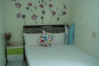 Miaoli City - Hsinhsin International YH : Private double room at the Miaoli City - Hsinhsin International YH Hostel in Taiwan