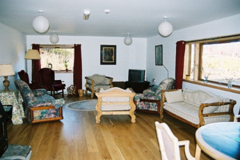 Carrbridge - Slochd Mhor Lodge : Living room in the Carrbridge - Slochd Mhor Lodge Hostel in Scotland