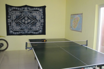 Haikou - Banana International YH : Table Tennis at Haikou - Banana International Youth Hostel, China