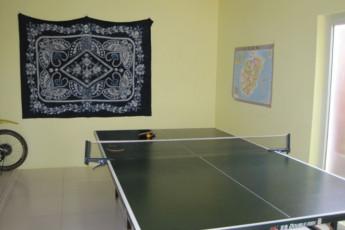 Haikou - Banana International YH : Table Tennis at Haikou - Banana International Youth Hostel, China