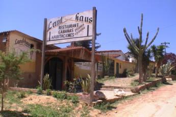 Samaipata - HI Landhaus : Front Exterior View of Samaipata - HI Landhaus Hostel, Bolivia
