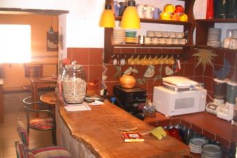 Samaipata - HI Landhaus : Kitchen and Dining Area in Samaipata - HI Landhaus Hostel, Bolivia