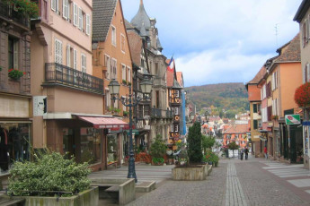 Saverne : Local area near the Saverne Hostel in France